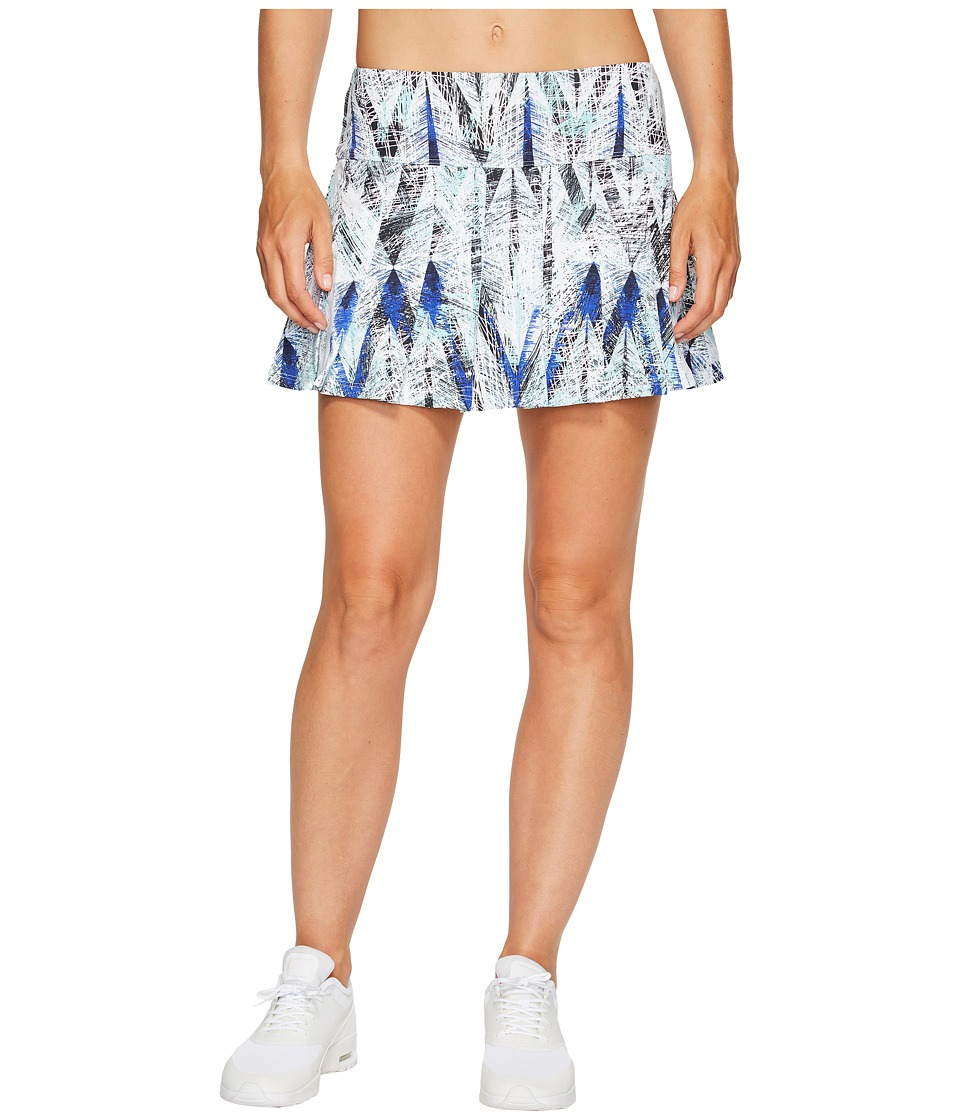 Eleven by Venus Williams Diamond 13 Flutter Skirt (Diamond Print) Women