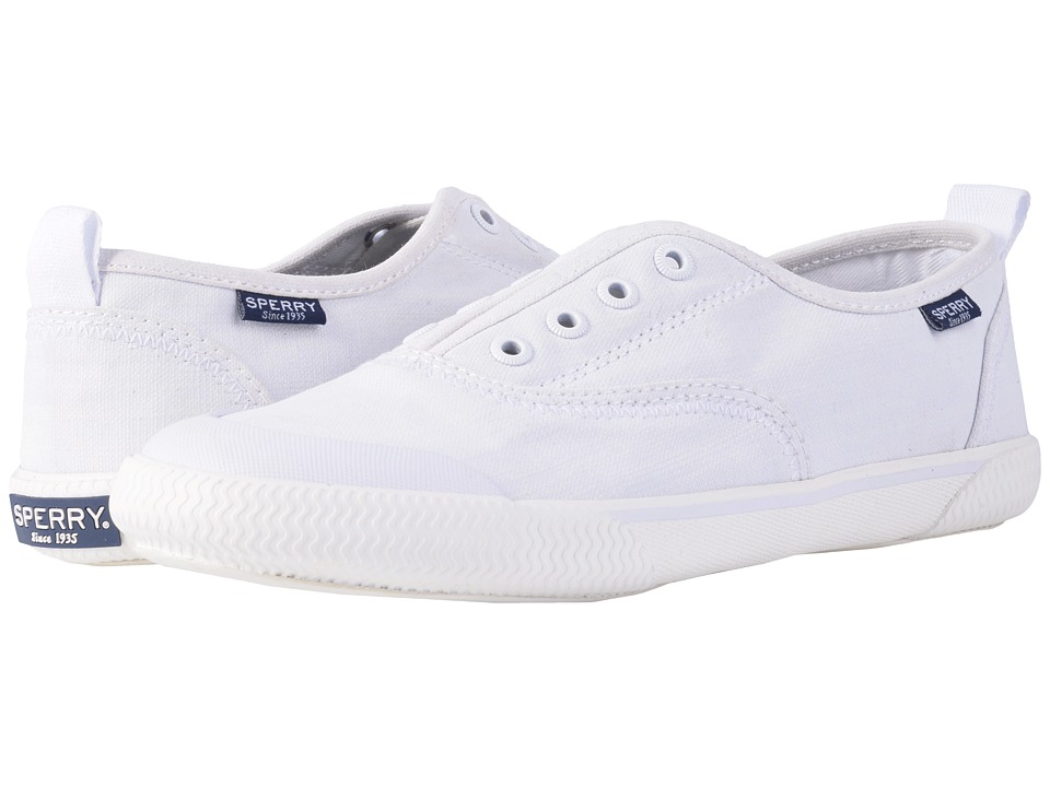 Sperry Top-Sider Quest Skip (White) Women's Slip on  Shoes