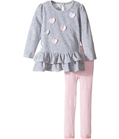 Mud Pie - Heart Tunic And Leggings Set (Infant)