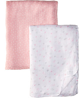 Mud Pie - Heart Bamboo Swaddles Set (Infant)