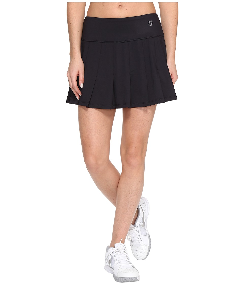 Eleven by Venus Williams Core 13 Flutter Skirt (Black) Women