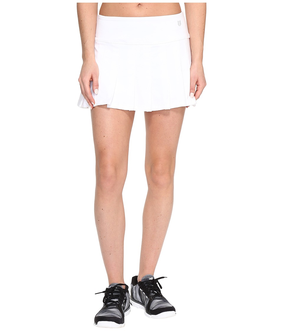 Eleven by Venus Williams Core 13 Flutter Skirt (White) Women