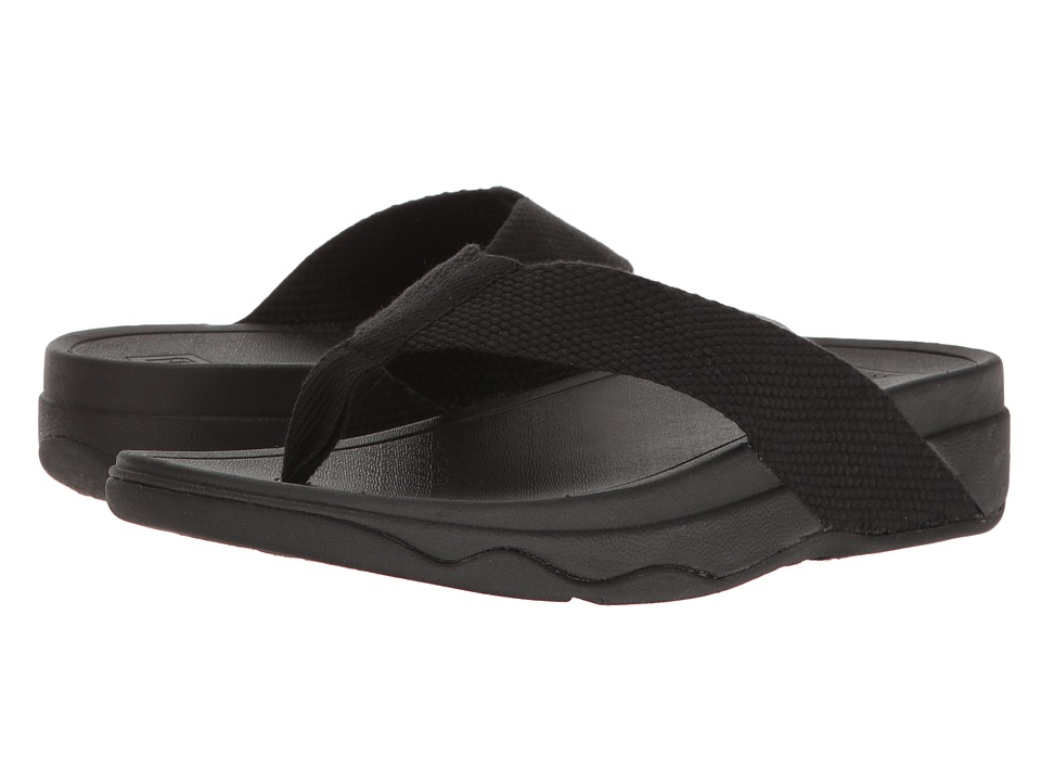 FitFlop - Surfa (Black 2) Women's Sandals