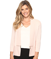 Ivanka Trump - Open Fly-A-Way Zipper Cardigan Sweater