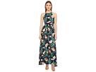 Jimena Tropical Print Maxi Dress