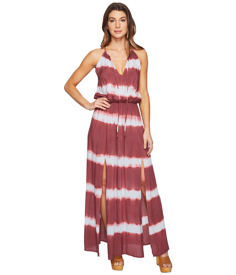 Culture Phit - Emmalee Tie-Dye Maxi Dress with Slit (Blue...