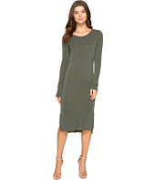 Culture Phit - Fleta Long Sleeve Midi Dress with Pocket
