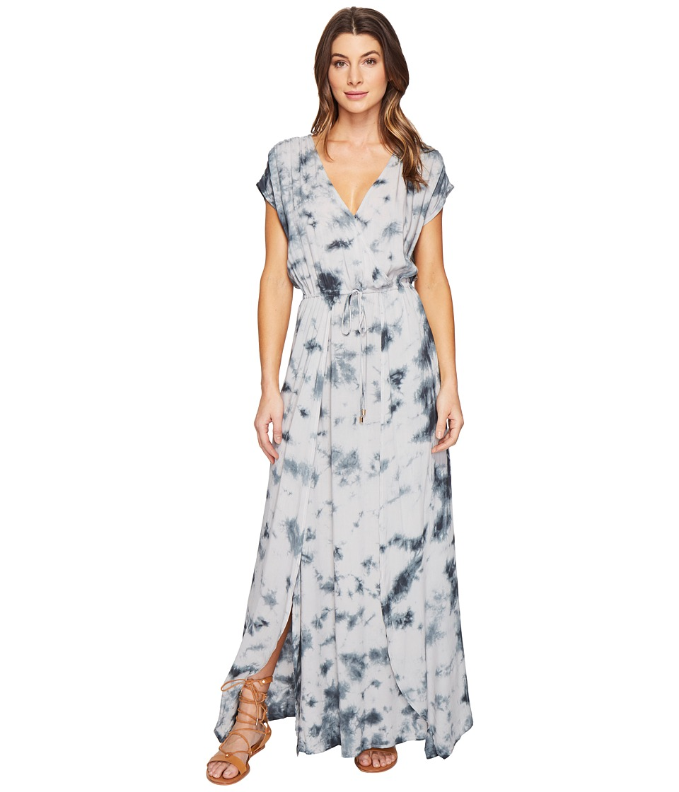 Culture Phit Farica Tie-Dye Maxi Dress (Light Grey) Women