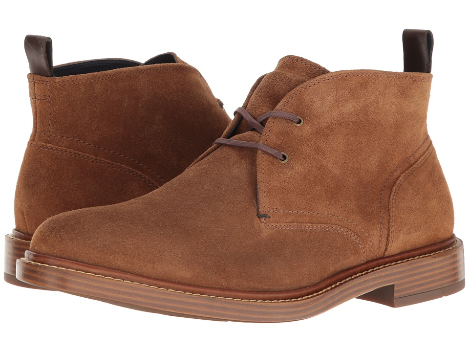 Cole Haan Adams Chukka (Bourbon Suede) Men's Lace-up Boots