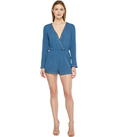 Brigitte Bailey - Illiana Bell Sleeve Romper with Bead Detail