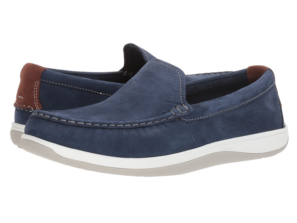Cole Haan Boothbay Slip-On Loafer (Marine Blue Nubuck) Men