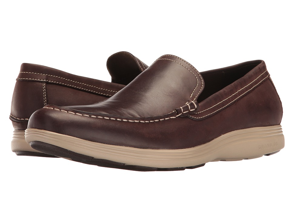 Cole Haan Grand Tour Venetian (Java Leather/Cobblestone) Men