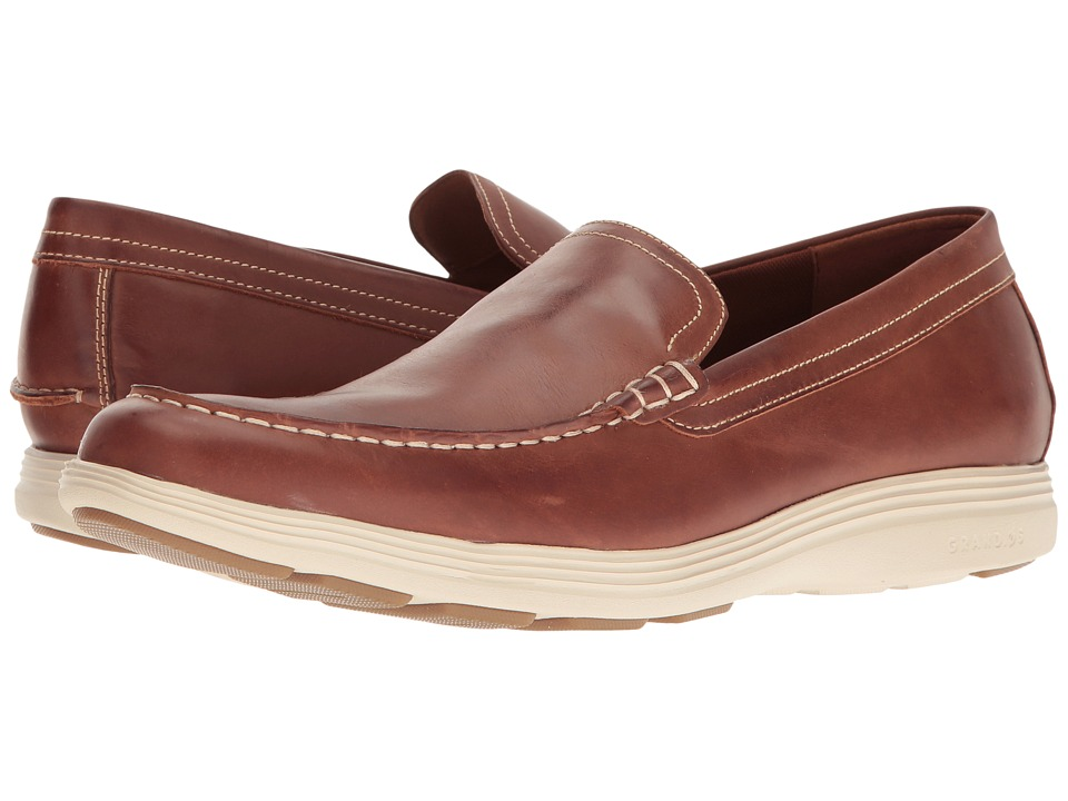 Cole Haan Grand Tour Venetian (Woodbury Leather/Fog) Men