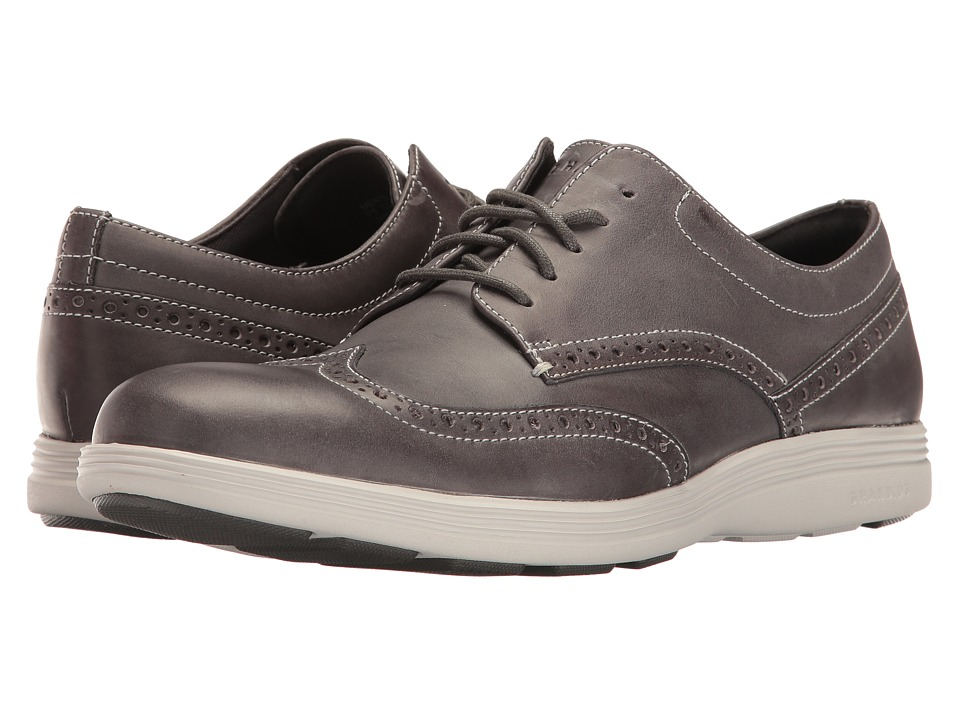 Cole Haan Grand Tour Wing Oxford (Magnet Leather/Vapor Grey) Men