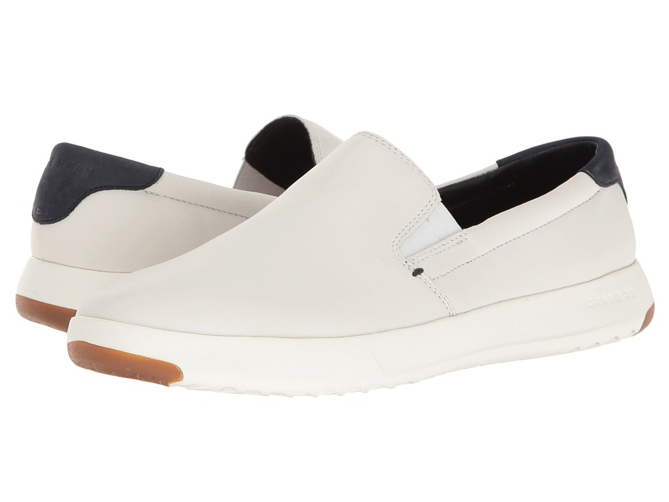 Cole Haan Grandpro Slip-On (White) Men