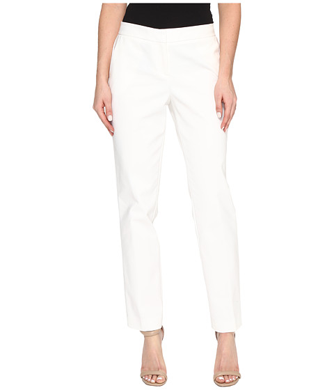 Vince Camuto Front Zip Ankle Pants - New Ivory