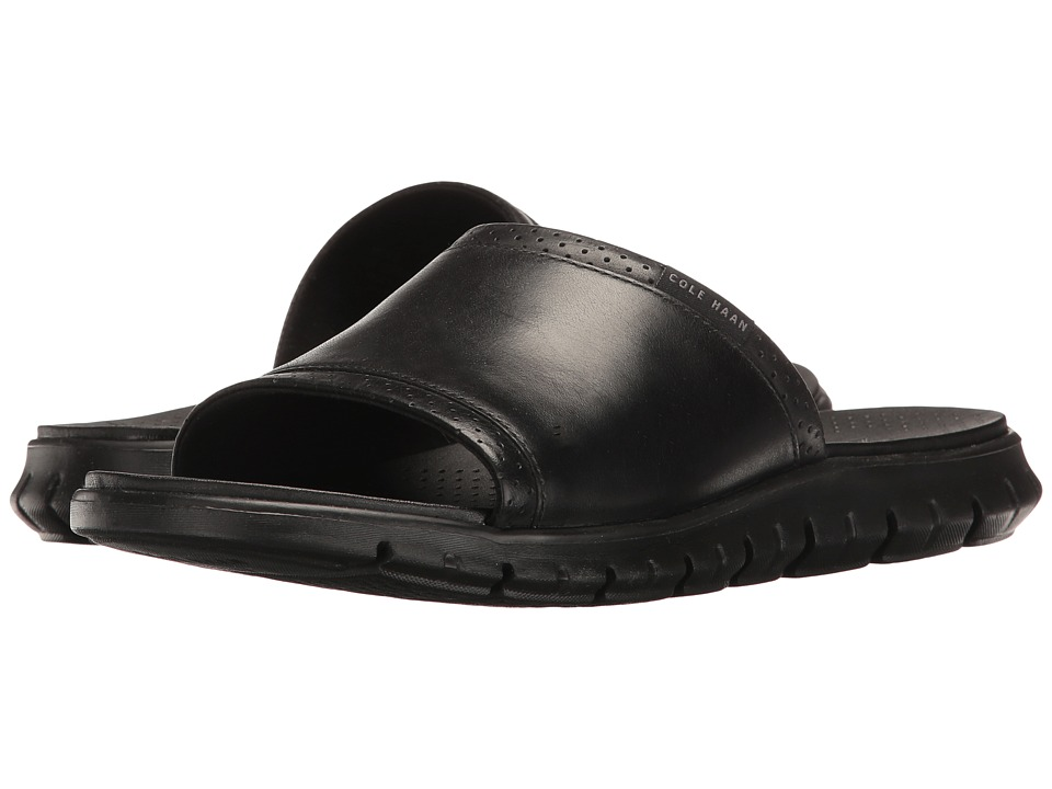 Cole Haan Zerogrand Strap Solid (Black/Black) Men