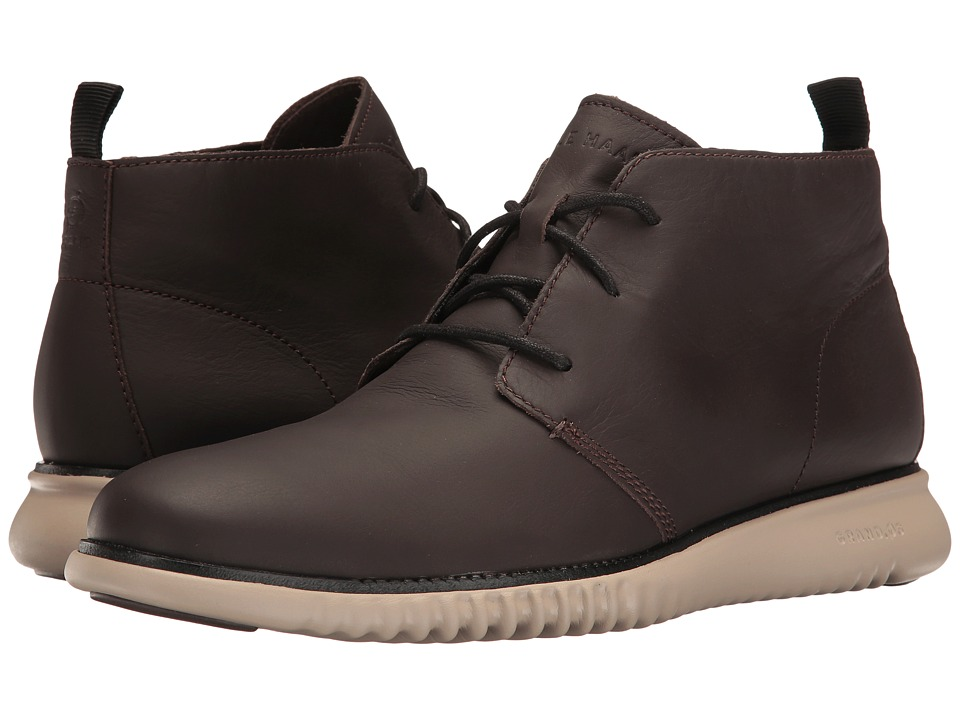 Cole Haan 2.Zerogrand Chukka (Java Leather/Cobblestone) Men