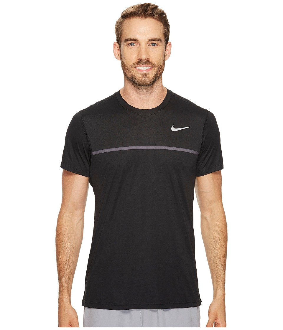Nike Challenger Crew (Black/Dark Grey/White) Men