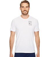 Nike - Court Breathe Short Sleeve Tennis Top