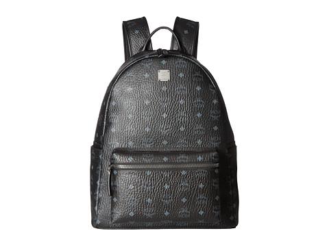MCM Stark No Stud Medium Backpack - Black