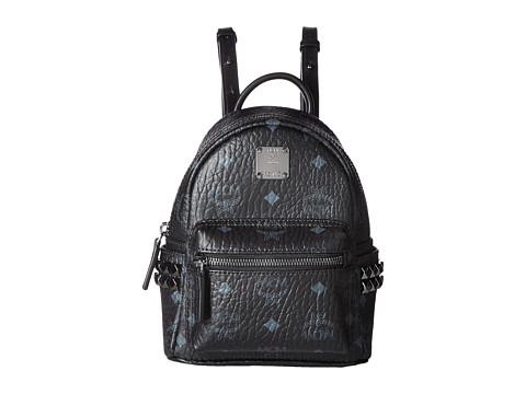 MCM Stark Side Stud Mini Backpack - Black