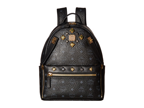 MCM Dual Stark Small Backpack - Black