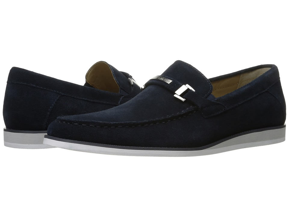 Calvin Klein Kiley (Dark Navy Calf Suede) Men