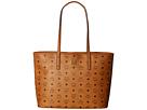 MCM Anya Shopper Top Zip Medium Shopper