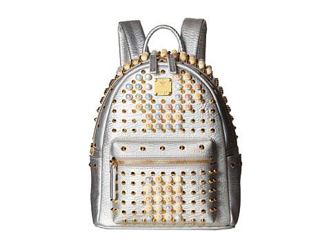 MCM Stark Pearl Studs Mini Backpack