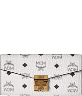 MCM - Patricia Visetos Large Two Fold Wallet with Chain
