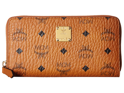 MCM Heritage Large Zipped Wallet