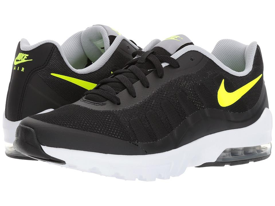 Nike Air Max Invigor (Black/Volt/Wolf Grey/White) Men