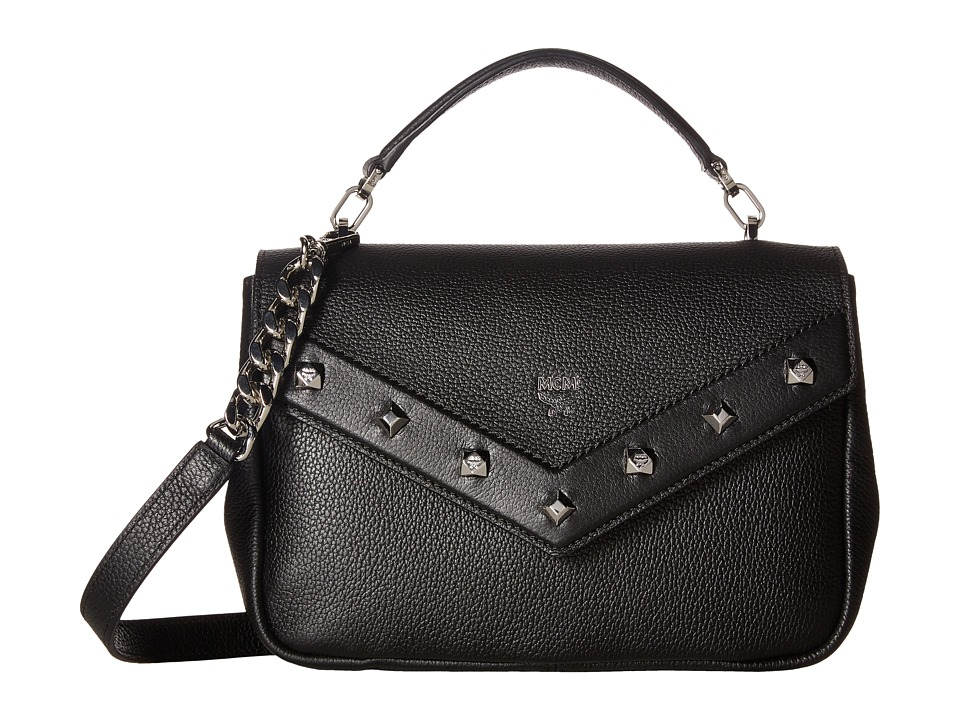 MCM Catherine Small Shoulder (Black) Shoulder Handbags