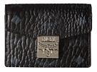 MCM Patricia Visetos Accordion Card Mini Wallet