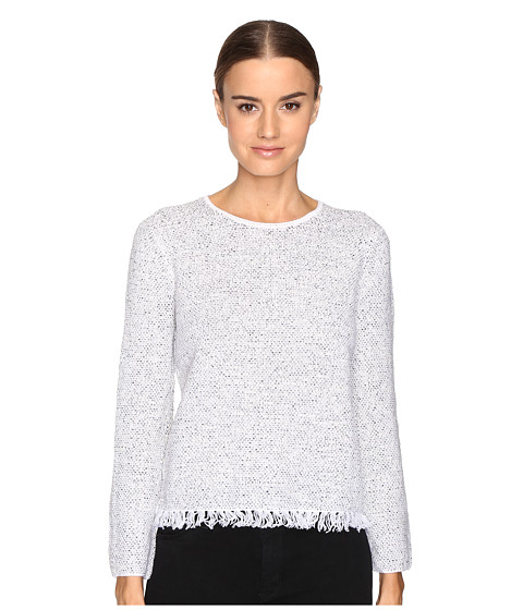 Theory Vendala Inlay Tweed Sweater