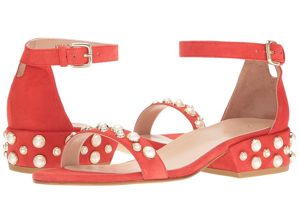 Stuart Weitzman Allpearls (Pimento Suede) Women's Shoes