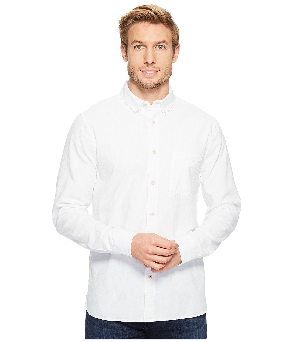 Joes Jeans - Sandoval Vintage Japanese Oxford (White) Mens Long Sleeve Button Up