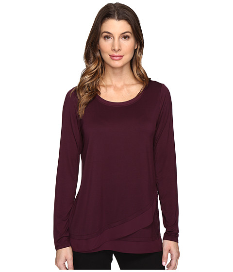 NYDJ Layered Front Knit Top