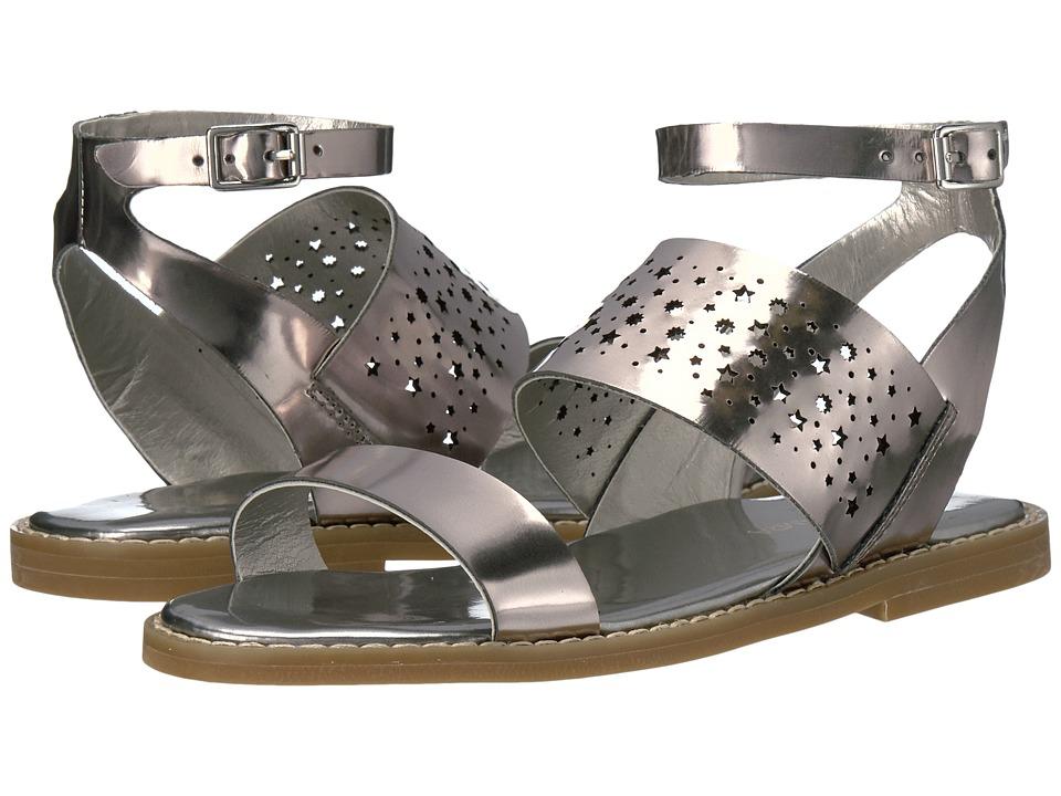 Yosi Samra Kids Miss Arianna (Toddler/Little Kid/Big Kid) (Silver) Girls Shoes