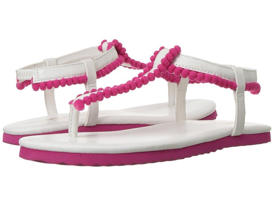 Yosi Samra Kids - Miss Rhiannon (Toddler/Little Kid/Big Kid) (White/Multi) Girls Shoes