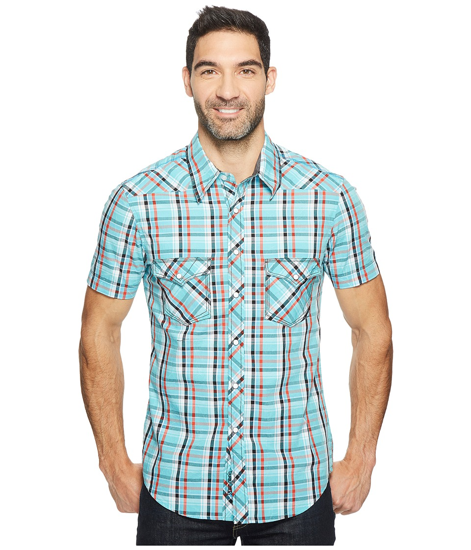 Rock and Roll Cowboy - Short Sleeve Snap B1S2057