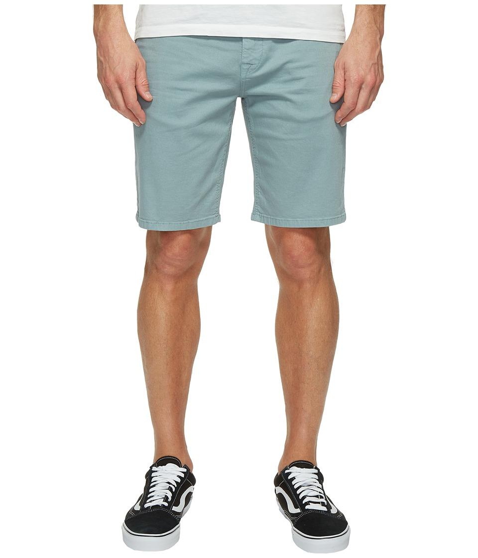 Joe's Jeans - The Brixton Trouser Shorts in Stevenson Colors - Kinetic in Blue Stone