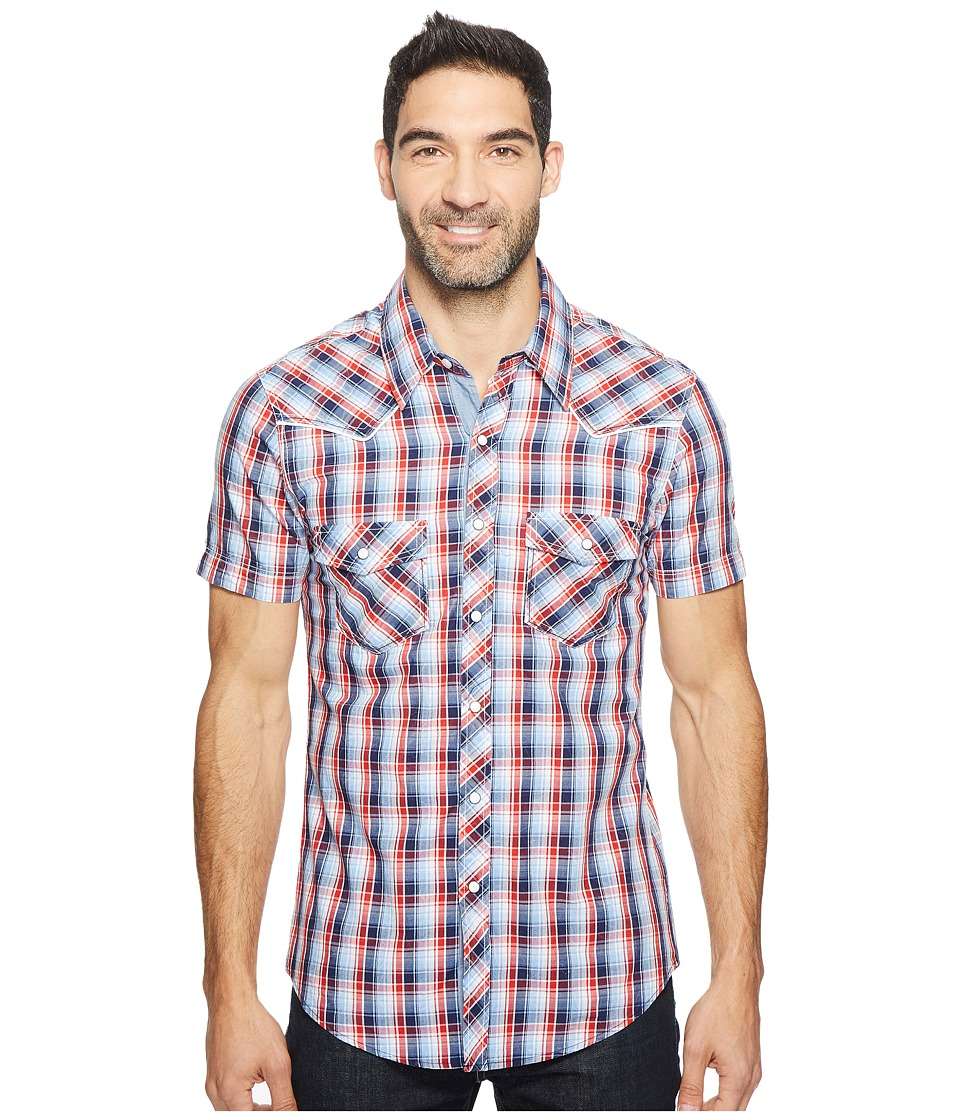 Rock and Roll Cowboy - Short Sleeve Snap B1S2062