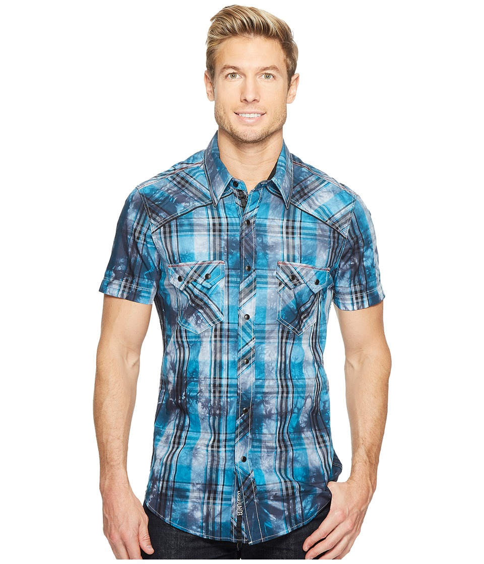 Rock and Roll Cowboy - Short Sleeve Button Down B1S2060