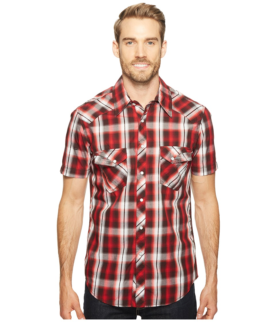 Rock and Roll Cowboy - Short Sleeve Snap B1S2063