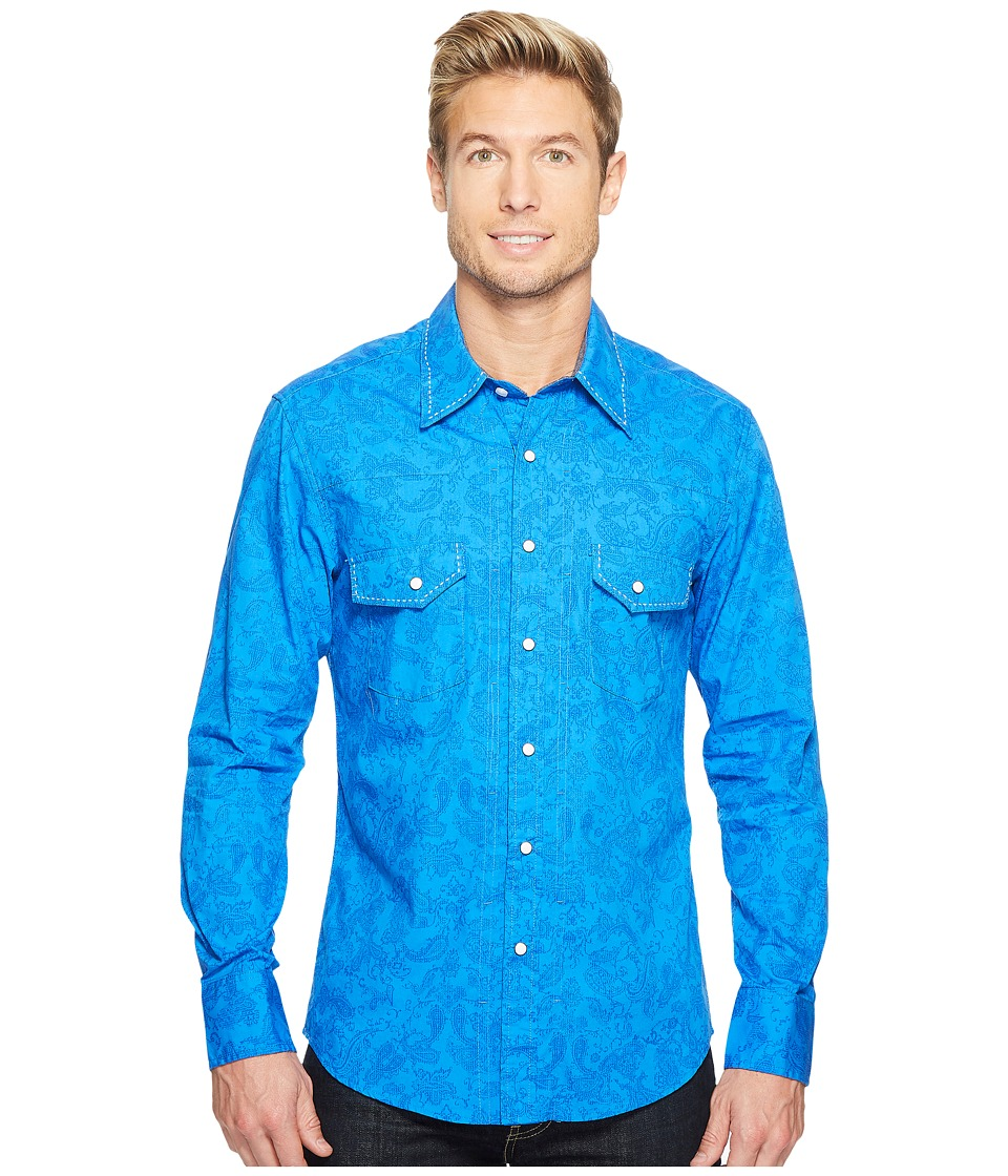 Rock and Roll Cowboy - Long Sleeve Snap B2S2067