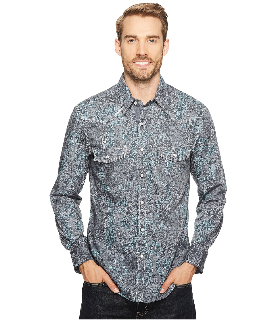 Rock and Roll Cowboy - Long Sleeve Snap B2S2071