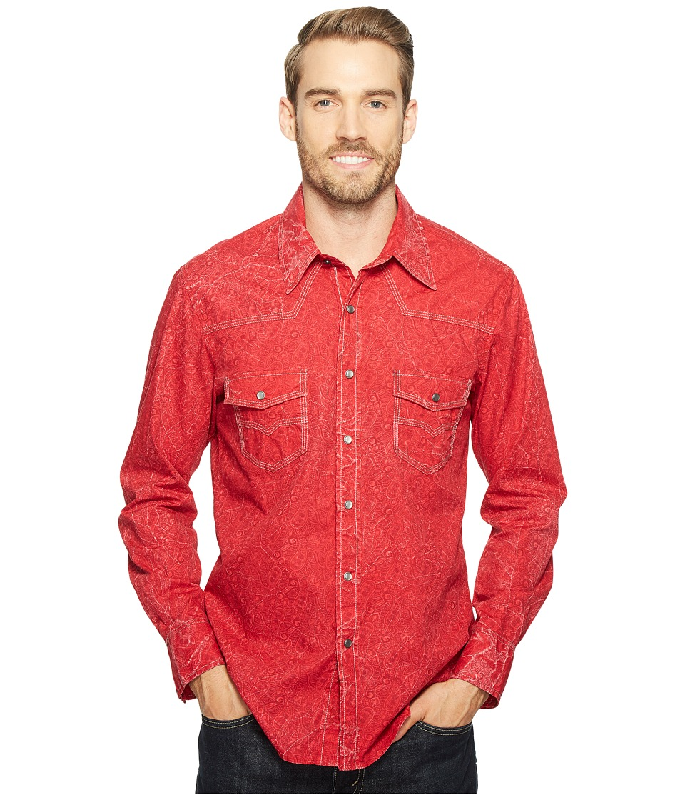 Rock and Roll Cowboy - Long Sleeve Snap B2S2072