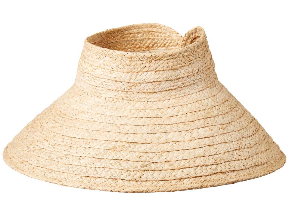 Hat Attack - Roll Up Travel Visor (Natural) Casual Visor